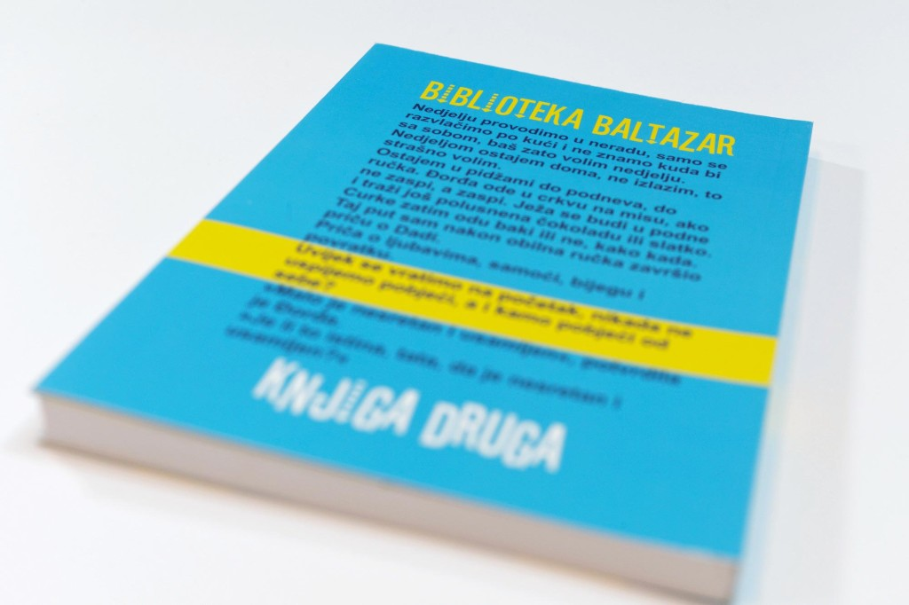 "Damir Mađarić- ""Nespretni Dado"" (children's novel)"